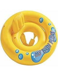HuntGold Gonflable bébé flotteur mère & chaise enfants nager anneau (1 Pic)