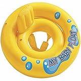 HuntGold mein Baby Schwimmer Schwimmbad Infant Rückenlehne Stuhl Lounge Schwimmen Ring (1 Stk.)