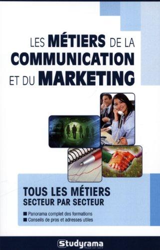 Les mtiers de la communication et du marketing