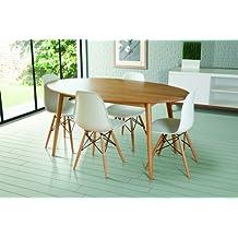 mesas ovaladas de comedor On mesas de comedor amazon