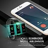 Winisok Fitness Armband mit Blutdruckmessung Pulsmesser, Fitness Tracker Uhr Wasserdicht IP67 Schrittzähler Uhr Stoppuhr Sport GPS Aktivitätstracker Schlafüberwachung Anruf SMS für Kinder Damen Männer - 7