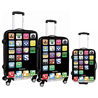 Saxoline – Juego de maletas  multicolor S Pad