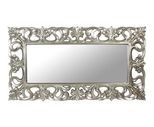 DECORHOME - Espejos Barrocos - Espejo Celosía Plata