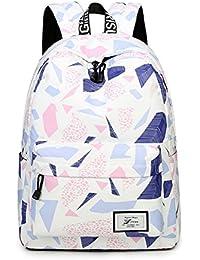5887ac6a698 Joymoze Fashion Leisure Backpack for Girls Teenage School Backpack Women  Print Backpack Purse