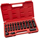 Sunex 3325 Steckschlüsselsatz, 3/8-Zoll-Antrieb, SAE-Master Impact Steckschlüsselsatz, 25-teilig