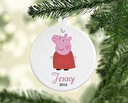 Dozili Baby Mädchen Ornament Baby 's First Christmas Ornament Personalisierte Weihnachten Ornamente Baby Ornament Weihnachten Ornament