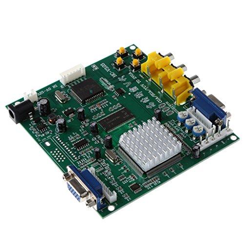 MagiDeal Arcade Spiel PCB Board RGB/CGA/EGA/YUV auf VGA HD Video Konverter Board Platine HD9800/GBS8200