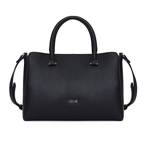 Kadell PU-Leder Handtaschen Damen Taschen Luxus Umhängetasche Top Griff Geldbörse