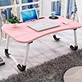 LuvBells® Smart Multi-Purpose Laptop Table with Dock Stand and Coffee Cup Holder/Study Table/Bed Table/Foldable and…