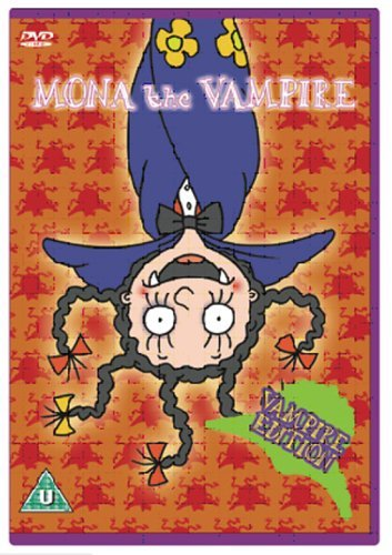 Mona The Vampire - HALLOWEEN VAMPIRE EDITION Vampire Hunter/Book Of Slimey [2 DVDs] [UK Import]