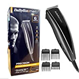 Brand New BaByliss 7437U Mains operated 6 Piece Precision Clipper Kit For Men