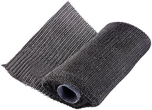 AGT Auspuff Reparaturband: Ultrafestes Fiberglas-Gewebe-Fixier- & Reparatur-Band (10 x 125 cm) (Fixierband)