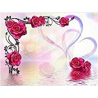 2807 Fototapete Wasser BlumenHerz Wellness liwwing no