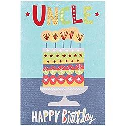 """Hallmark Geburtstagskarte für den Onkel """"Special Day""""–mittelgroß"""
