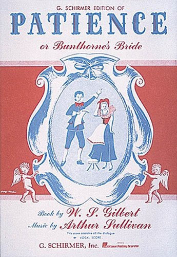 Patience or Bunthorne's Bride