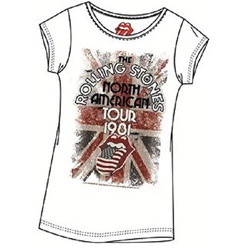 T-Shirt The Rolling Stones Mehrfarbig - Mehrfarbig