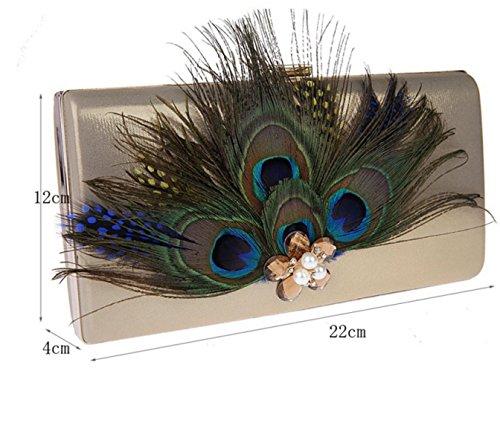 Peacock Sac à Bandoulière En Toile Ouverte red