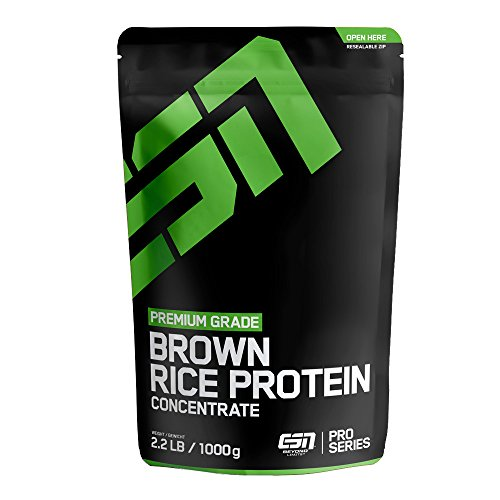 ESN Rice Protein Concentrate, Cinnamon Roll, 1kg (Protein Cinnamon Roll)