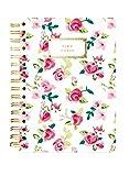 Hard Bound Journal: Pretty Floral Take Notes - Hardcover-Notizbuch mit stabiler Ringbindung: Schön geblümt: Unser langlebiges Notizbuch für den täglichen Schreibbedarf
