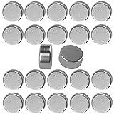 50 Stück Mini Powermagnete 6x3mm Rund Kühlschrank Magnettafel Pinnwand Magnet