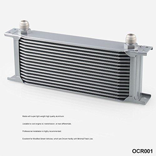 Gadget moto,per moto,kit moto,cambio moto,ritocco moto,16 ROW AN-10AN Radiatore olio motore alluminio universale alluminio