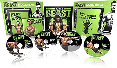 Body Beast Introductory Kit - Enthält komplettes DVD-Programm - 12 Trainingseinheiten mit Trainingsplan