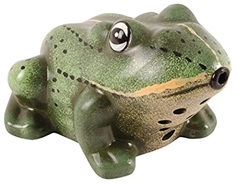 Fallen Fruits Decorative Welcome Frog with Croak Sound in a Gift Box - Pool Spa Design