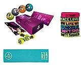 Zumba Fitness® Exhilarate,4 DVD Deutsch, + Sporthandtuch + Tonning Sticks + Powerarmbänder zumba fitness zumba video zumba dvd