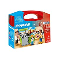 Playmobil 9543 City Life Family Kitchen Carry Case
