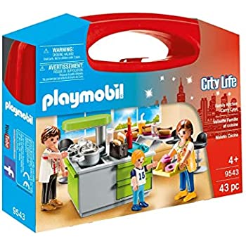Playmobil 5582 Modern Kitchen Amazon Co Uk Toys Games
