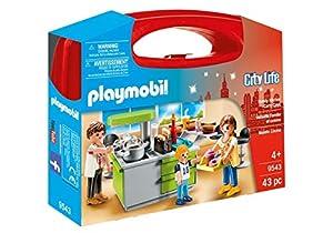 Playmobil- Maletín Cocina Juguete, (geobra Brandstätter 9543)