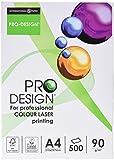 Pro Design 10260059047 Farblaserpapier, 90 g, 500 Blatt, weiß