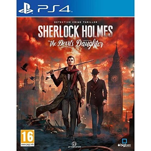 Sherlock Holmes : The Devil's Daughter : Playstation 4 , ML