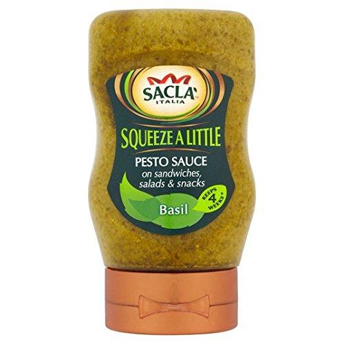 "Sacla ""squeeze a Little Pesto Basil 270g"