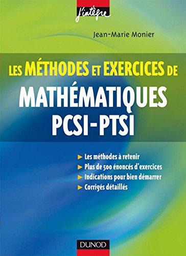 Méthodes et Exercices de Mathématiques...