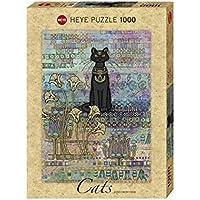 "Heye VD-29536 Puzzle Standard Jane Crowther ""Gatto Egiziano"", 1000 Pezzi"