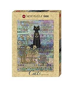 Heye- Cats Egyptian (Standard 1000 Pz.) Puzle, (9536)