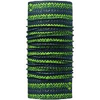 Original Buff 113090.845.10.00 Tubular de Microfibra, Hombre, Verde, Talla Única