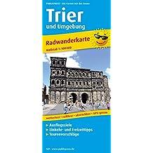 Trier und Umgebung: Radwanderkarte mit Ausflugszielen, Einkehr- & Freizeittipps, wetterfest, reissfest, abwischbar, GPS-genau. 1:100000 (Radkarte / RK)