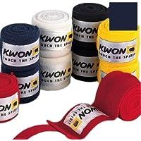 KWON Boxbandage Elastisch - Protecciones de antebrazo para boxeo (vendaje, elástico), color azul
