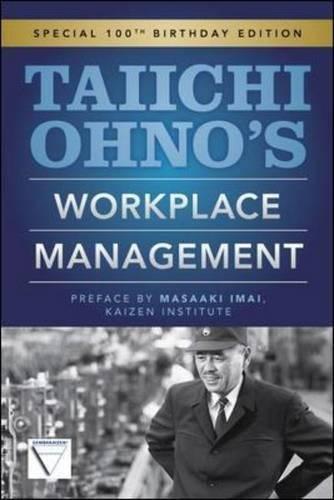 Taiichi Ohnos Workplace Management por Taiichi Ohno
