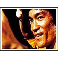 imagenation Bruce Lee 'Close Up'–60cm x 80cm impresión en láminas autoadhesivas papel Póster