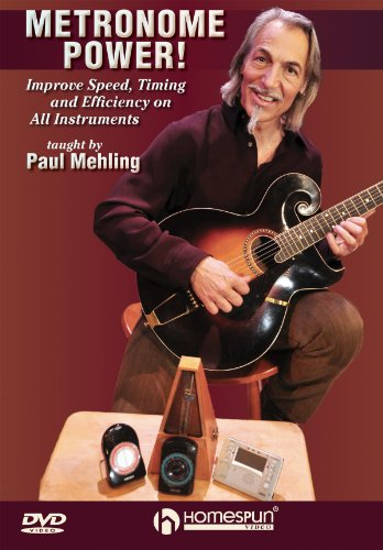 Paul Mehling: Metronome Power! - Improve Speed, Timing And Efficiency On All Instruments [UK Import]