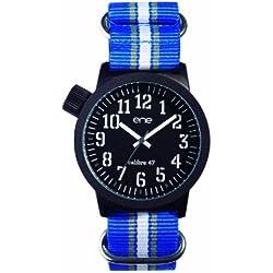 ene-watch Herren-Armbanduhr Analog, Model: Nato 109 / 700019201, NATO-Nylon Armband