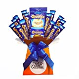 Terry Chocolate Orange Bouquet - Sweet Hamper Tree Explosion - Perfect Gift