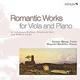 Brahms, Fuchs, Kiel : uvres romantiques pour alto et piano. Moog, Hashiba.