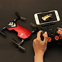 OOFAY Drone with Camera X25 Mini Air Pressure Set High Wifi Aerial Collapsible Quadcopter Children Drone Pocket Remote Control Aircraft