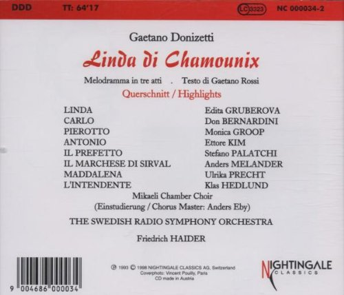 Donizetti: Linda di Chamounix [Highlights]