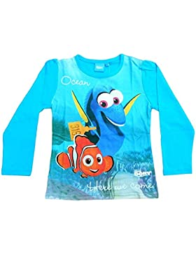 Disney Findet Dory Langarm-Shirt, original Lizenzware, blau, Gr. 92 - 116