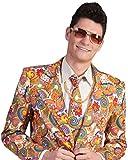 Pierro´s Kostüm Flower Power Hippie Anzug Richie Größe 56/58 -